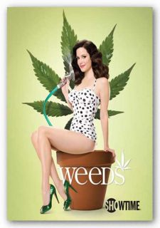 Television Poster Weeds Weed Pot Mary Louise Parker