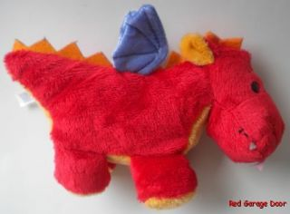 Dragon Red Mary Meyer Plush Stuffed Animal Soft Toy 8 1 2 Mythical