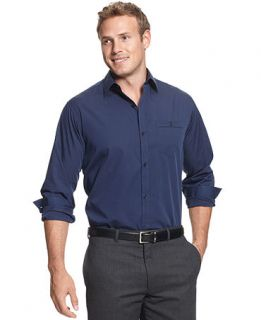 Calvin klein ava unique tall logo buclke otk rubber rain for Dress shirts for big and tall