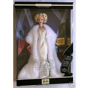 Hollywood Premiere Movie Star Marilyn Monroe Barbie New