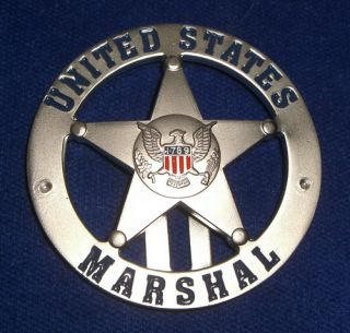 US Marshal Service Badge USMS US Federal Police Badge Polizeimarke