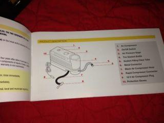 Maserati Granturismo Quattroporte Spare Tire Air Compressor Pump