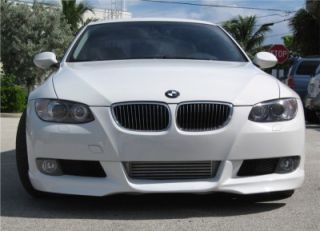 2007+ BMW 3 SERIES COUPE (E92) M Tech Style Front LIP Spoiler (PAINTED