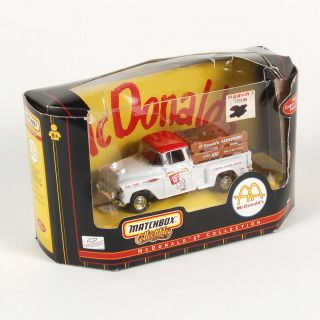 Matchbox Collectibles 1957 Chevy 3100 McDonalds Pickup Truck 1 43