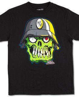Mulisha Kids T Shirt, Boys Bonehead Tee   Kids Boys 8 20