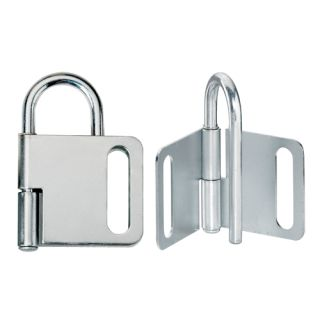 MasterLock 418 1 Heavy Duty Pry Proof Lockout Hasp 4 Padlock