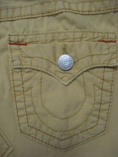 True Religion Maternity Skirt Lola Rigid Mini Skirt Yellow Size 27 XS
