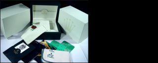 Rolex Mens 39mm Platinum Masterpiece Silver Diamond Dial 18946 Sant