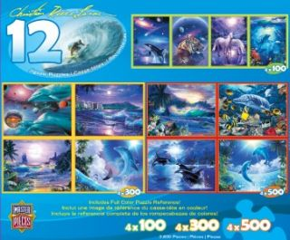 Masterpieces Christian Riese Lassen Dolphins Seascapes Multipack