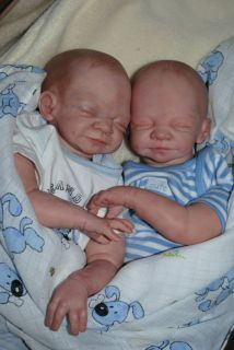 little Boy Reborn Baby, Kit °Mathilda° by Ulrike Gall LE 442/700