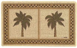 Palm Tree Accent Rug Kitchen Mat Laundry Room Tropical