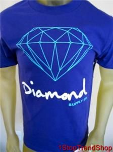 Diamond Supply Co Purple Mens s s Shirt Sizes s M L XL Skate $30