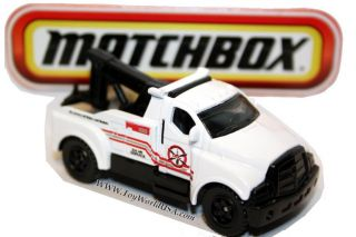 Matchbox Service Center 2005 Tow Truck White