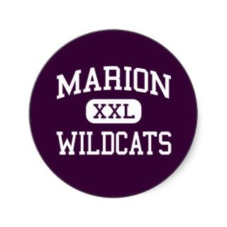 Marion   Wildcats   Junior   Marion Illinois Stickers