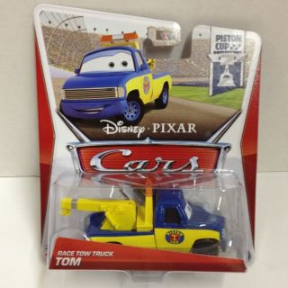CARS Disney Pixar 2013 PISTON CUP Series RACE TOW TRUCK TOM  Mattel