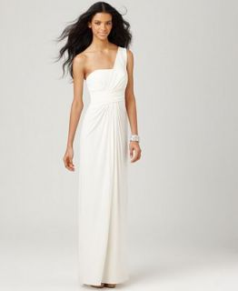 BCBGMAXAZRIA Dress, Matilde One Shoulder Empire Waist