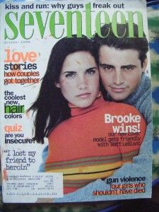 Seventeen Magazine Oct 1996 Matt LeBlanc
