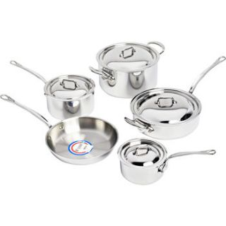 Mauviel 9 PC Stainless Steel Cookware Set