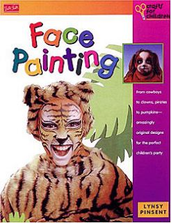 Face Painting Book Costumes Full Color New MSRP $5