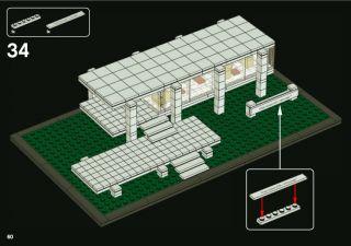 Lego Architecture Farnsworth House 21009 Australia Stock Fast Shipping