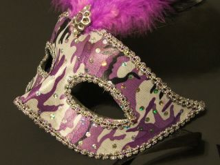 Halloween Masquerade Ball Venetian Opera Mardi Gras Eye Mask New