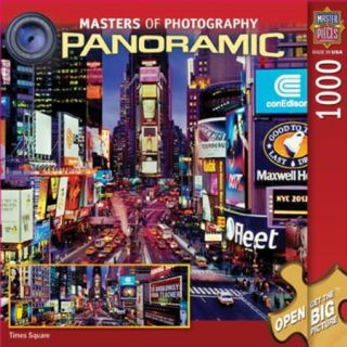 MasterPieces 71155 Masters of Photography Panoramic Puzzle, Times