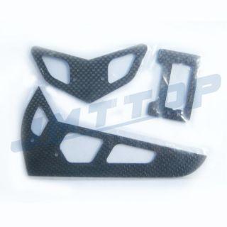 F02121 C 2 4G 6CH Trex 500E Pro Metal Carbon Belt Drive 3D RC