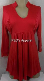 Womens Maternity Clothes Clothes Coqueta s M L XL Red Shirt Top Blouse
