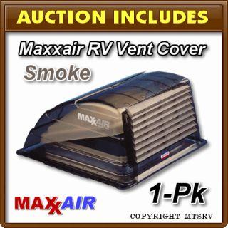 MAXXAIR Vent Cover   SMOKE 1 PACK   Lexan   Brand New   Maxx Max Air