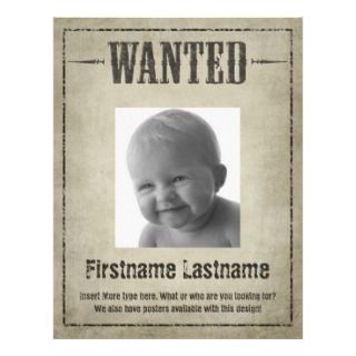 Wanted Poster Design   Flyers Letterhead Design