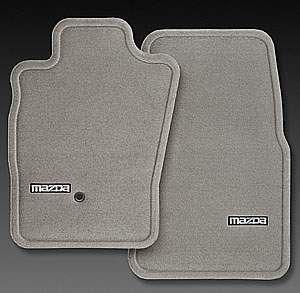 2004 2006 Mazda MPV Front Mask Black 22oz Haartz Vinyl