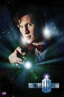 Doctor Who   Matt Smith * Poster * 11th Dr + Sonic Screwdriver