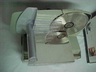 Platinum Food Meat Slicer for Pro Kitchen by Maximatic USA