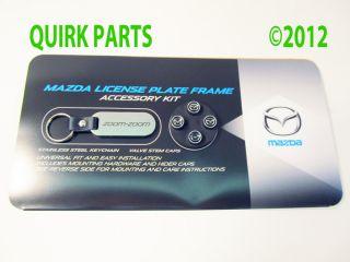 mazda3 mazda5 mazda6 cx 5 cx 7 cx 9 license plate frame genuine mazda
