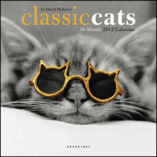 Classic Cats 2012 Mini Wall Calendar
