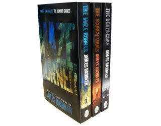 The Maze Runner Series 3 Books Set Collection James Dashner The Scorch