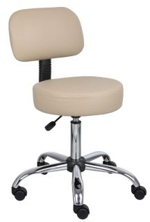 NEW COMMERCIAL BEIGE VINYL MEDICAL DENTAL TATTOO SALON STOOLS CHAIRS