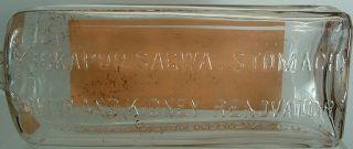 KICKAPOO Sagwa Indian Medicine Bottle