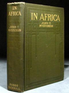 1910 Africa Big Game Hunting Elephant Lion Buffalo Rhino +PHOTOS VERY