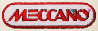 Meccano Model Construction Set Company Logo Patch