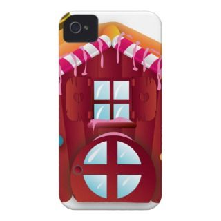 Cute candy house Case Mate iPhone 4 cases