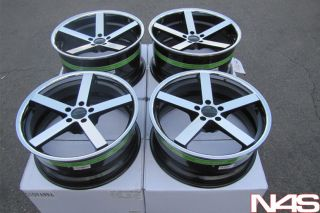Sedan Giovanna Lightweight Mecca Concave Staggered Wheels Rims
