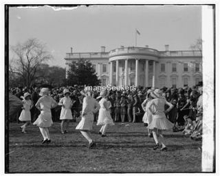 Girl Scouts Maypole Dance White House D C 1923