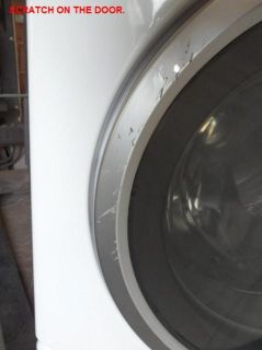 WCVH6260FWW 27 WHITE Front Load Washer with 3.7 IEC Cu. Ft. Capacity
