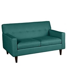 Aico Eden Living Room 3 Pc Wood Trim Camelback Sofa Chair Loveseat
