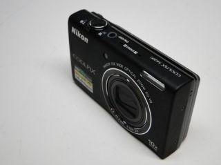 New Open Box Nikon Coolpix S6200 16 0 MP Digital Camera Black