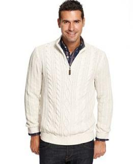 Tasso Elba Sweater, Textured Striped Merino Wool Sweater