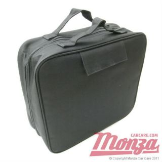 Meguiars Detailing Storage Kit Bag Stores Car Wax Polish Shampoo Etc