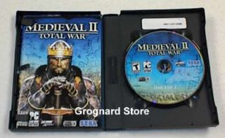 Medieval II 2 Total War PC Game USA Limited DVD Edition