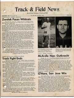 News Cross Country Vic Zwolak Peter McArdle New York Athletic